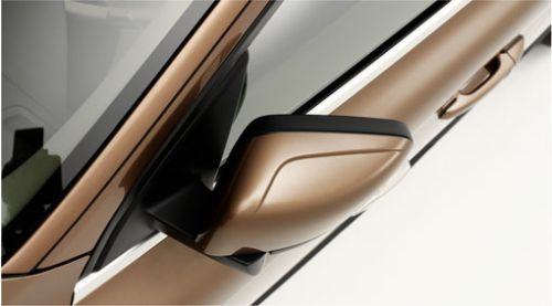 Door Mirrors-Foldable With Ground Lighting-XC60 2009-2013